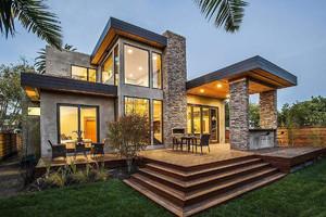 農村160平米占地別墅設計圖,占地160平米商住別墅設計圖