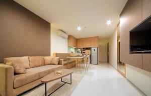 45平米长方形公寓装修效果图,45平米长条型公寓装修效果图