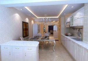 90平米兩室一廳怎么裝修,90平米兩室一廳簡歐裝修效果圖大全