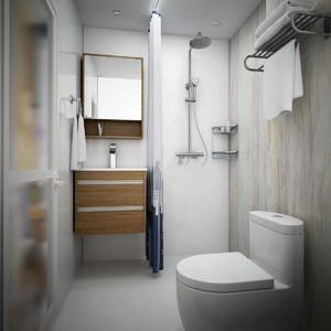 小卫生间淋浴房效果图,小卫生间浴缸淋浴房效果图