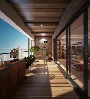 欧式创意阳台装修效果图大全,欧式休闲阳台装修效果图大全