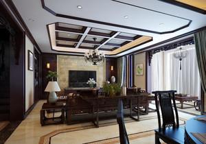 中式客厅装修实景图大全,客厅中式装修实景图大全