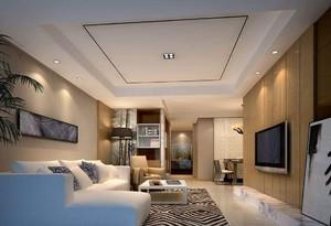 無吊燈客廳裝修效果圖,客廳不裝吊燈效果圖