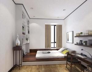 榻榻米新中式装修效果图欣赏,新中式榻榻米卧室装修效果图大全