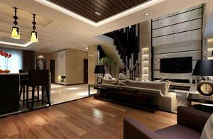 现代客厅装修风格效果图,现代风格别墅客厅效果图