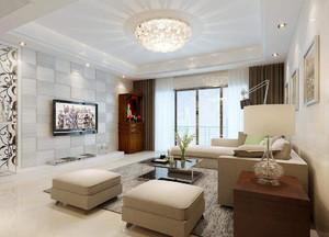 小客厅吸顶灯安装效果图,长方形客厅吸顶灯效果图