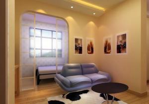 16平米卧室加客厅效果图大全,客厅加卧室隔断装修效果图