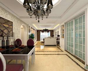 卧室客厅餐厅一体装修图,30平米客厅餐厅一体装修图
