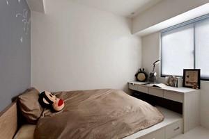 榻榻米北欧风格卧室装修效果图,小户型卧室榻榻米装修效果图