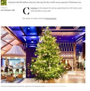 全球最贵圣诞树 - 世界最贵圣诞树图片