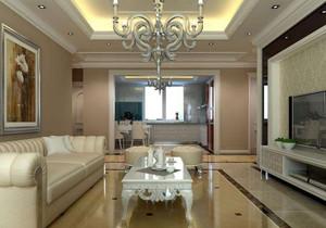 简欧客厅吊灯效果图,小客厅吊灯装修效果图