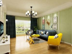 客厅无阳台落地窗装修效果图,无阳台客厅装修效果图欣赏