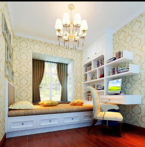 阳台装修榻榻米效果图,卧室阳台榻榻米装修效果图