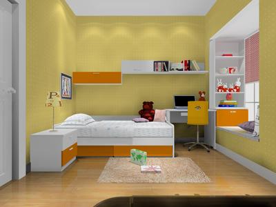 兒童房榻榻米裝修臥室效果圖,兒童女(女)臥室榻榻米裝修效果圖