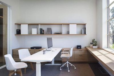 小型办公室装修效果图,小型办公室装修实景图