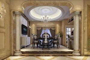 客厅罗马柱装修效果图,客厅罗马柱背景墙装修效果图大全