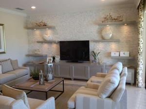 硅藻泥客厅沙发墙装修效果图大全,硅藻泥客厅电视背景墙装修效果图大全