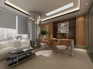 欧式总经理办公室装修,40平方总经理办公室装修