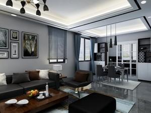 现代简约风格灯客厅效果图,小户型现代简约风格客厅装修效果图