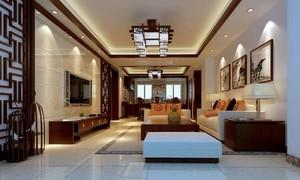 客厅地砖装修效果图大全,客厅装修中式地砖效果图欣赏