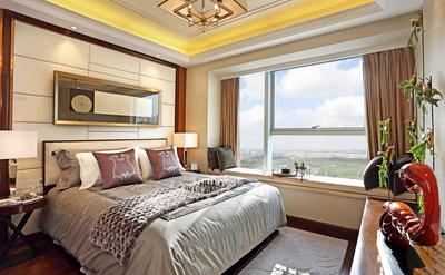 带飘窗的卧室装修整体效果图,带飘窗的儿童卧室装修效果图