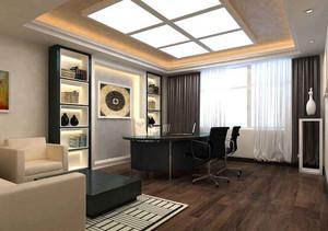 南宁总经理办公室装修,总经理办公室装修效果图片