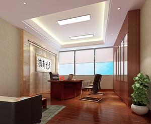 总经理办公室中式装修,60平方总经理办公室装修图
