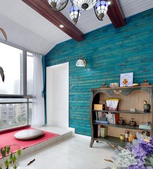 阳台榻榻米床装修效果图大全,阳台榻榻米床单人装修效果图