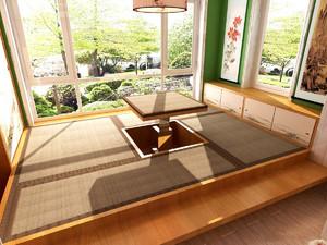 3米6阳台榻榻米装修效果图,落地窗阳台榻榻米卧室装修效果图