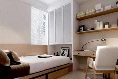 四平方卧室榻榻米装修效果图,4平米榻榻米卧室装修效果图
