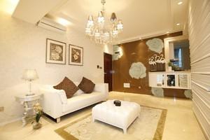小戶型簡約客廳裝修效果圖,小戶型陽臺和客廳隔斷裝修效果圖