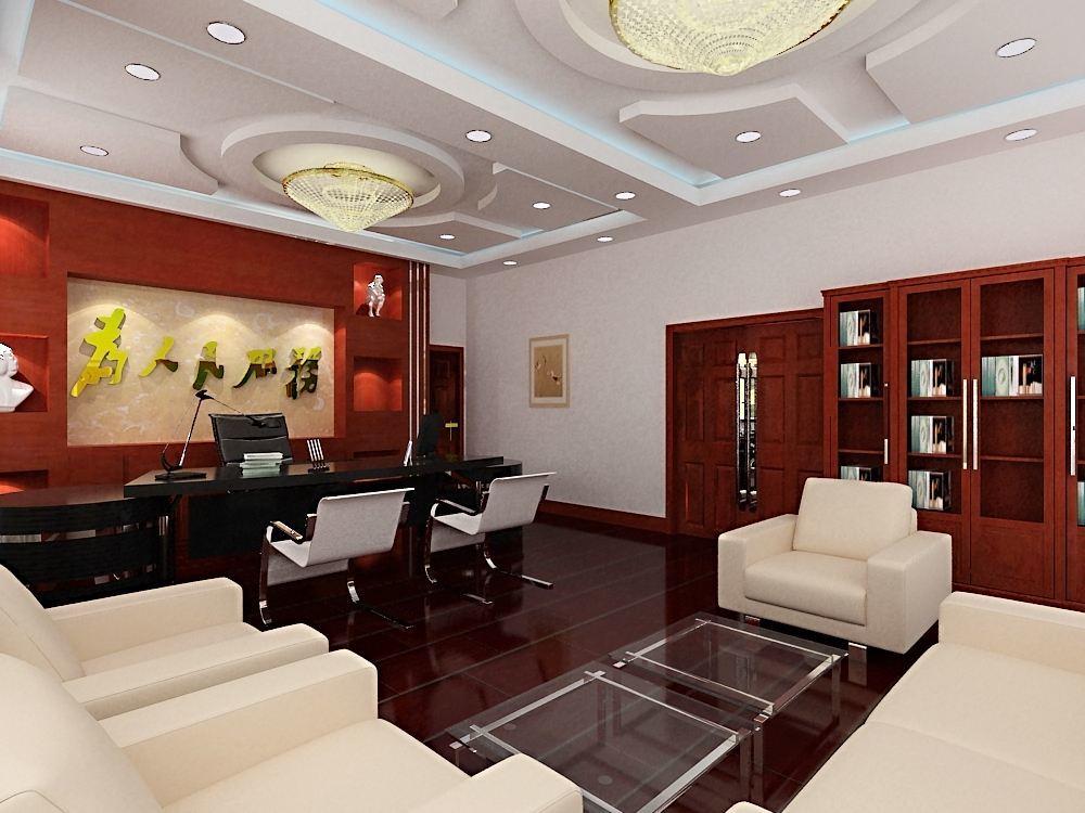 董事长总经理办公室装修效果图,80平的总经理办公室装修