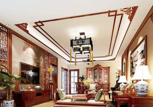 中式家装客厅设计效果图大全,家装中式客厅设计效果图