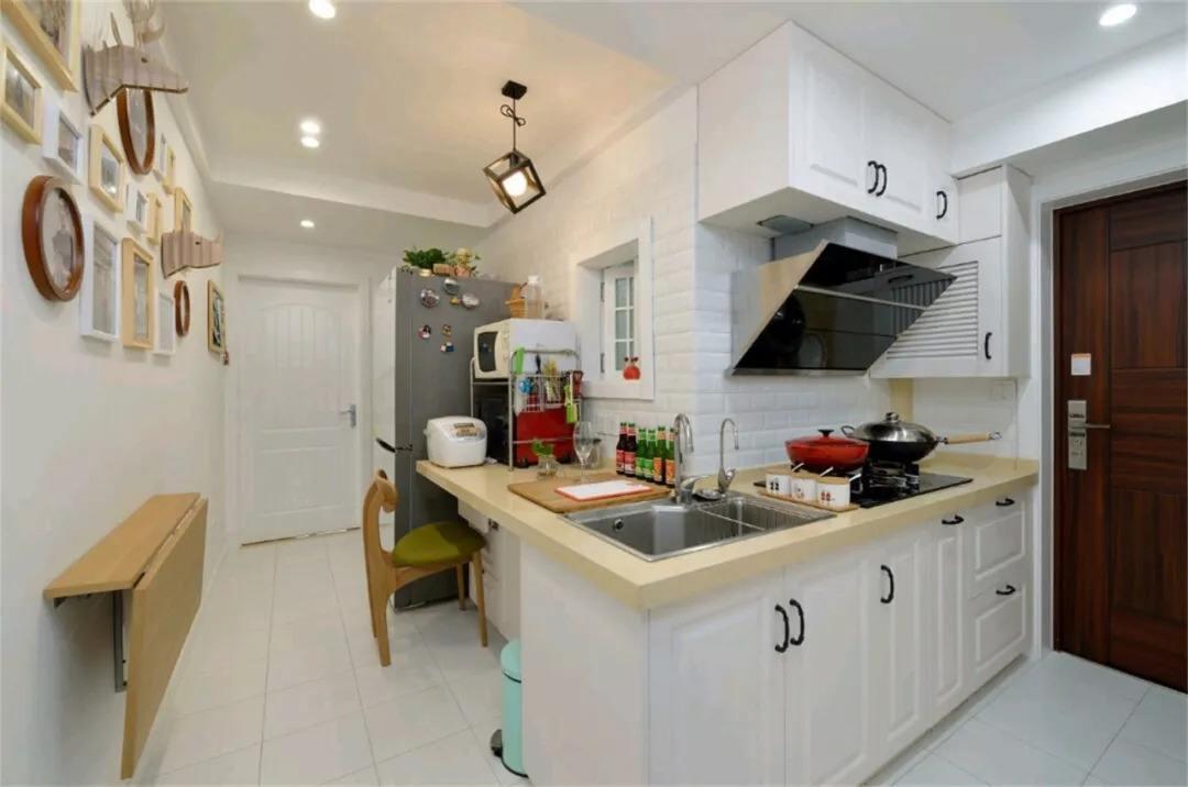 80平米小户型家装设计效果图,小户型厨房家装设计效果图大全
