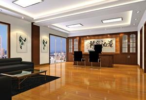 中式大办公室装修效果图,总经理大办公室装修效果图