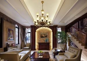 客厅欧式吊灯效果图,客厅吊灯搭配效果图
