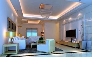 现代简约吊顶客厅装修效果图,现代简约客厅装修效果图欣赏