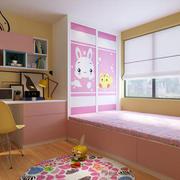 兒童房現代榻榻米90平米裝修