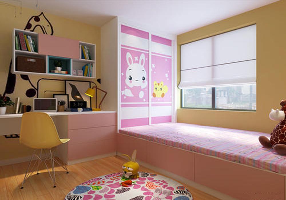 儿童房榻榻米床装修效果图,小榻榻米床装修效果图