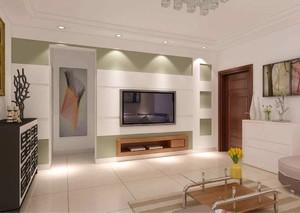 家居客厅电视墙装修效果图,普通家居客厅装修效果图