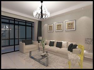 客厅推拉门立面图,现代风格式客厅立面图