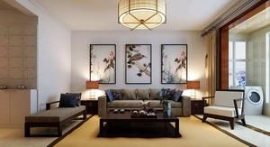 中式风格客厅立面图,客厅沙发墙立面图装修图纸