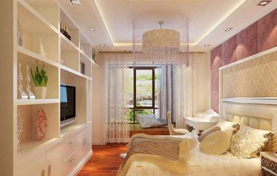 小户型卧室装修实景图,小户型简欧装修实景图