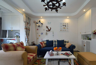50平小户型装修实景图,小户型客厅装修设计图