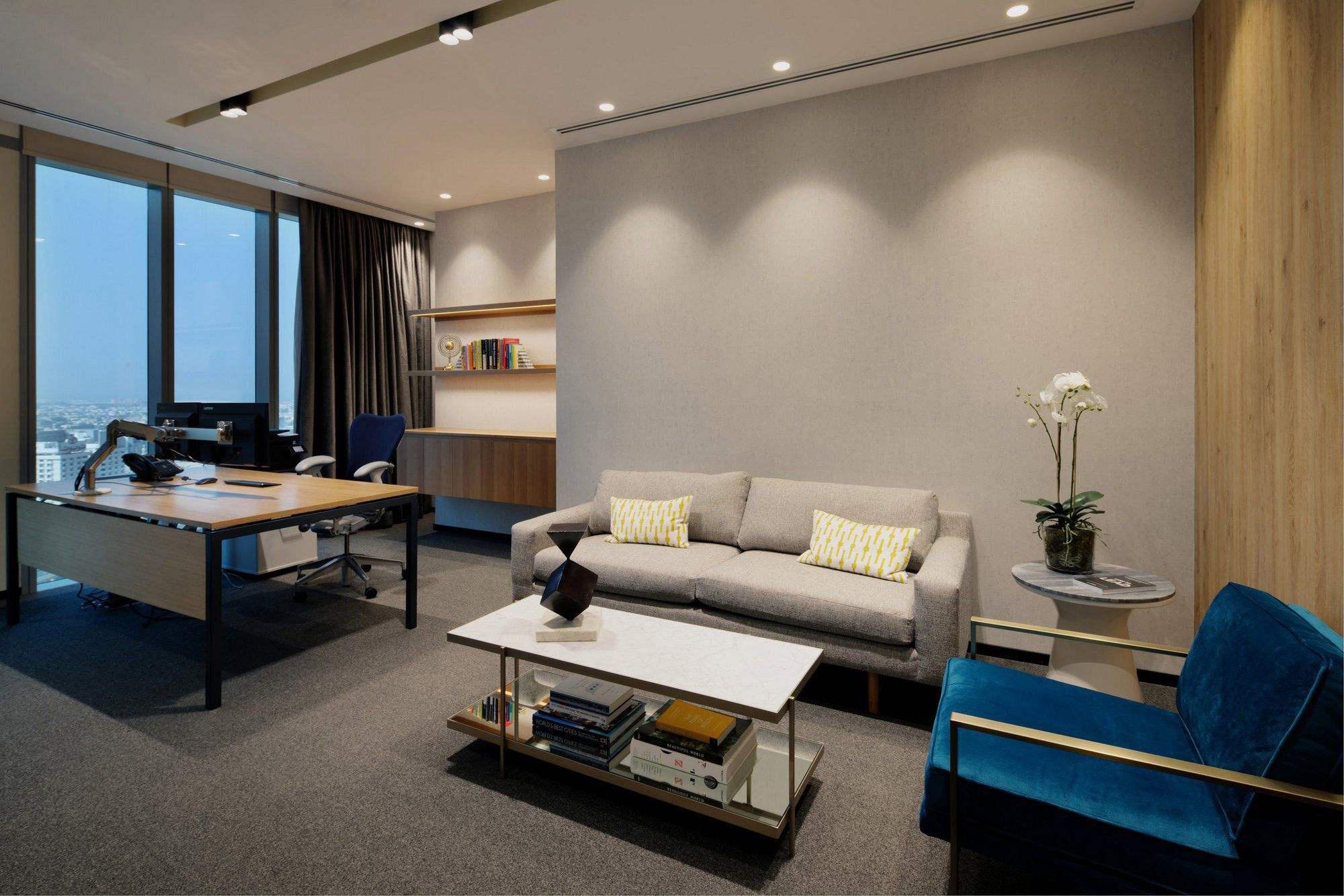 女老板的办公室装修,50平米老板办公室装修图