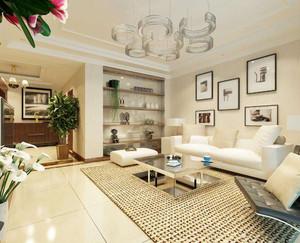 客厅现代风格装修效果图大全,简约现代风格客厅装修效果图