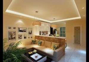 家装客厅吧台设计效果图,家装客厅颜色设计效果图
