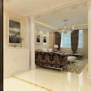 客厅现代家具100平米装修