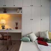 书房现代榻榻米90平米装修