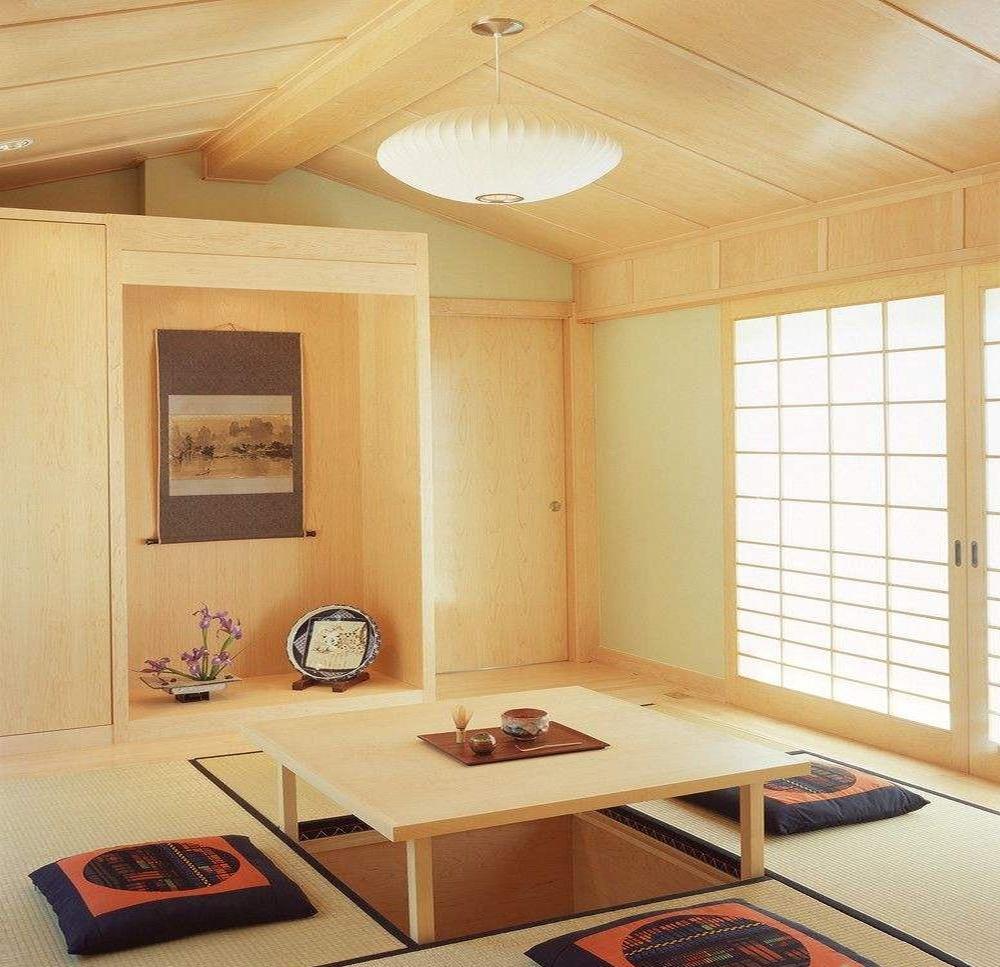 古典中式榻榻米装修效果图大全,中式客厅阳台榻榻米装修效果图